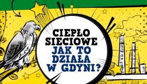 """""""Ciepło sieciowe – Jak to działa w Gdyni""""- konkurs komiksowy dla uczniów"""